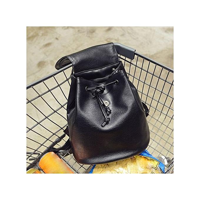 Generic Tectores Fashion Accessories Vintage Tassel Backpacks Weaving Girls School Bag Soft Backpack Fashion Bag à prix pas cher