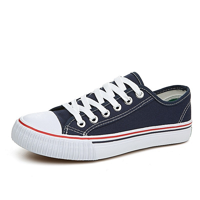 OEM New couple canvas classic hommes chaussures Korean version of Couleur student chaussures hommes cloth chaussures femmes chaussures-bleu à prix pas cher