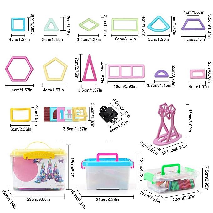 Autre Pièce magnétique Ensemble de blocs de construction modifiable tirant Pièce magnétique pour enfants Jouets éducatifs à prix pas cher