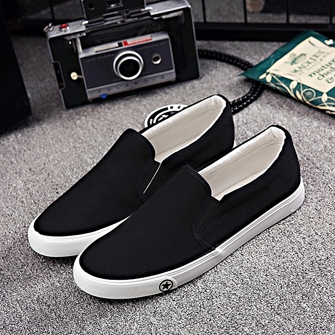 Other New Stylish Casual Men's Canvas Flat baskets Wearproof Working chaussures à prix pas cher