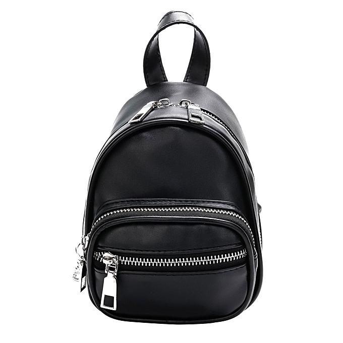 mode femmes Pure Couleur cuir bandoulière sac sac à dos  voyage Shoulder sac Chest sac à prix pas cher