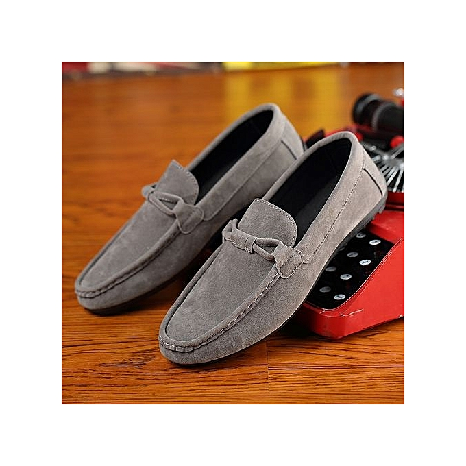 Fashion New Casual Shoes Winter Fur   Loafers 2017 2017 2017 Slip On Fashion Sneakers Shoes-Gris  à prix pas cher  | Jumia Maroc da402f