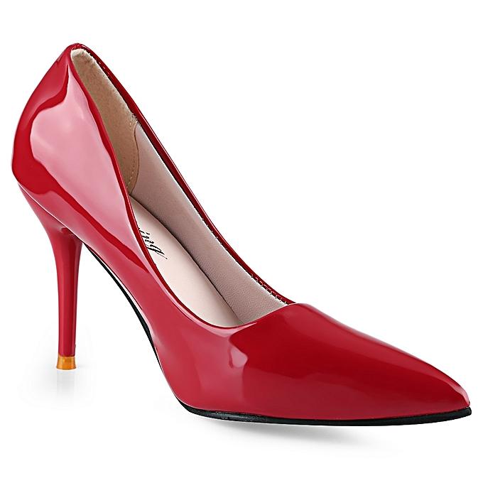 Fashion Stylish Pointed Toe   Thin High Heel Heel High Shoes-RED à prix pas cher    Jumia Maroc 073f79