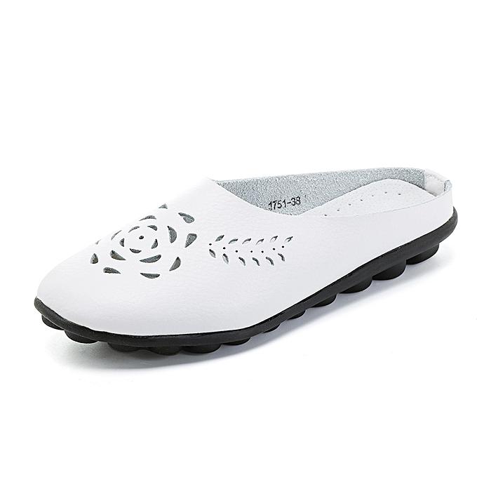 Fashion US Taille 5-12 Hollow Casual Comfortable Flat Sandals à prix pas cher