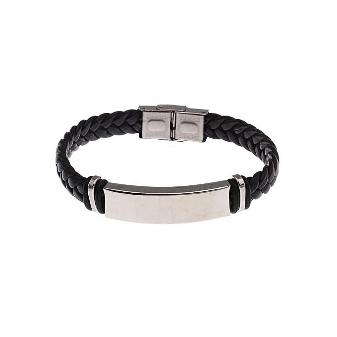 Vente Bracelet Homme MarocLeather Name Bracelets 19520708d331
