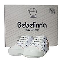premiers pas de bebelinna , Chaussures en cuir souple pour bébé garçon et  fille. 515f5b7e3494