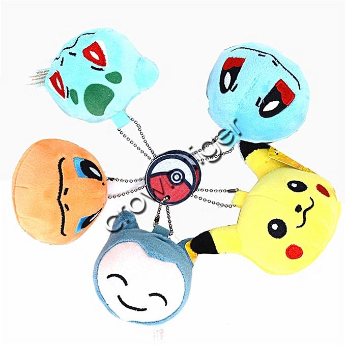 Autre hot kawaii Pikachu duck Plush Stuffed Toy soft pikachu plush Doll Keychain bag pendant charm Kids Party Gift Plush Toys DecorToy(A1) à prix pas cher