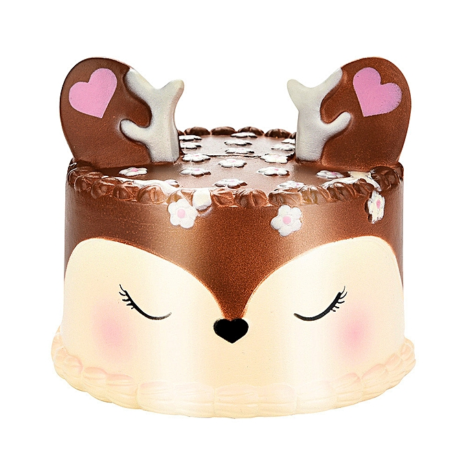 OEM Squish y Jumbo Deer Cake SFaible Rising Scented Squeeze Toy Collection Cure Gift à prix pas cher
