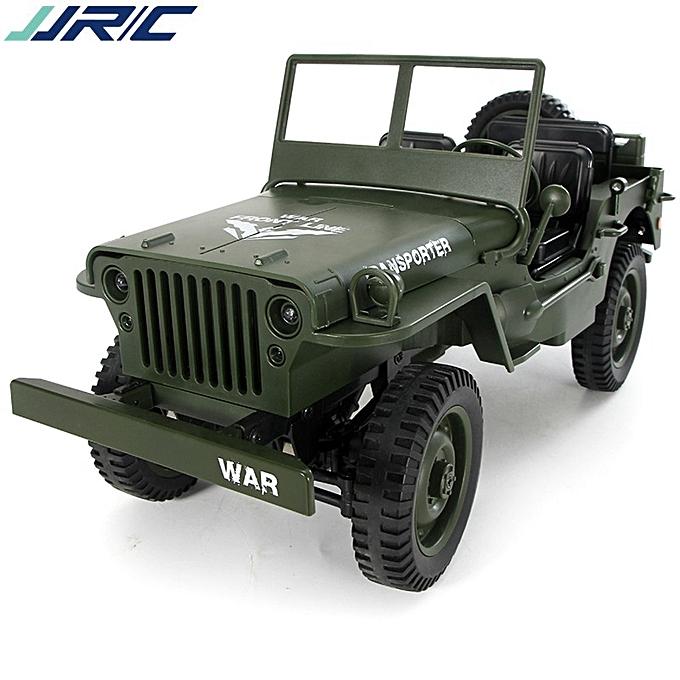 JJRC 1 10 Convertible Simulation Télécomhommede Voiture légère Jeep 2.4G Quatre roues motrices hors route à prix pas cher