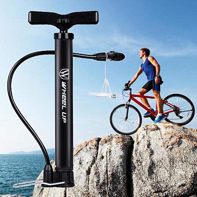 UNIVERSAL Portable Bike Bicycle Cycling Air Pump Hand Ball Inflator Wheel Up High Pressure à prix pas cher