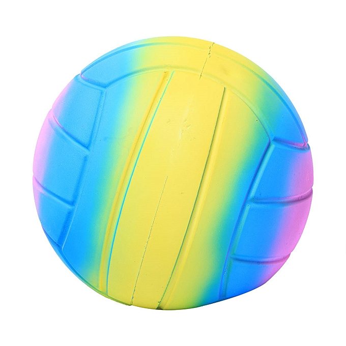 Generic Jumbo Super Giant Soft Volleyball Slow Rising Squeeze Relieve Stress Toy à prix pas cher