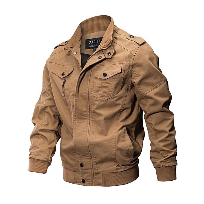 mode Epualet Tactical Military Washed Cotton Plus Taille XS-4XL de plein air Work Autumn Décontracté veste for Hommes à prix pas cher