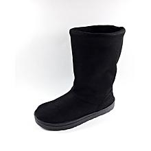 478efee24124 Bottine Haut qualité d  039 hiver Très chic et Confortable - Noir