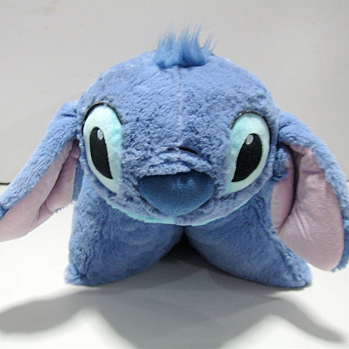 Autre Rare Special  Movie Cartoon Stitch 626 Cute Stuff Plush Toy Cushion Pillow Baby Birthday Gift à prix pas cher