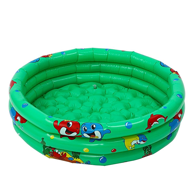 OEM 90cm Baby Kids Swimming Pool Inflatable Pool 3 Layer Bathtub Outdoor Indoor Fun à prix pas cher