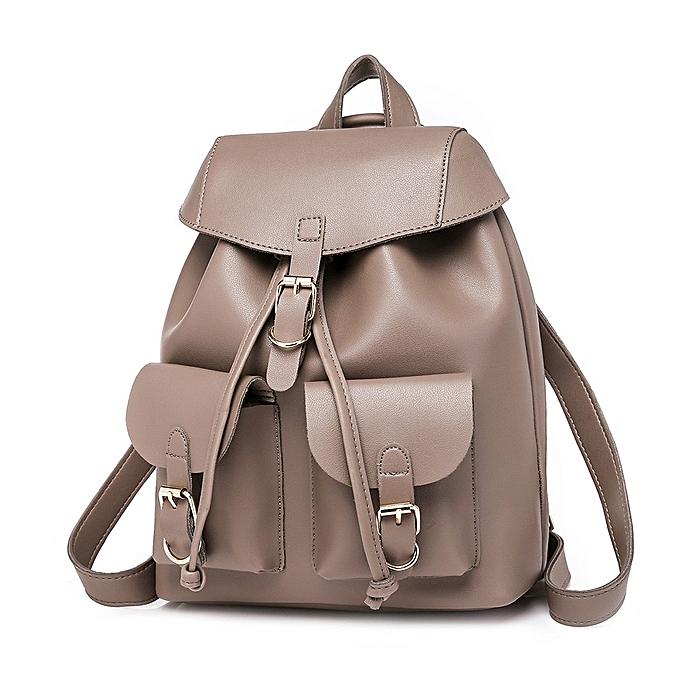 mode Singedan Shop femmes Preppy Style Décontracté Soft cuir petit Packet sac à doss sac à doss sacs à prix pas cher
