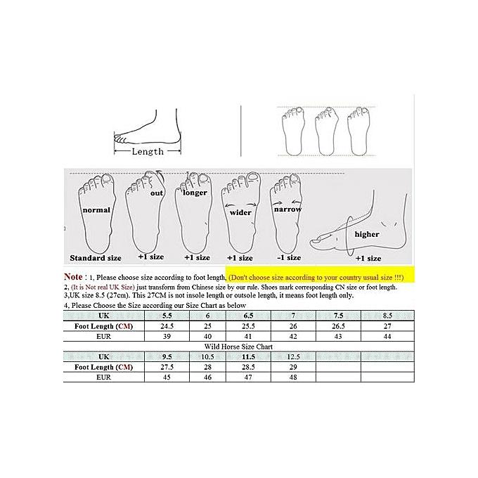 HT  s Slip-On Leather Driving Shoes Shoes Shoes Flats-Blue à prix pas cher  | Jumia Maroc adf94d