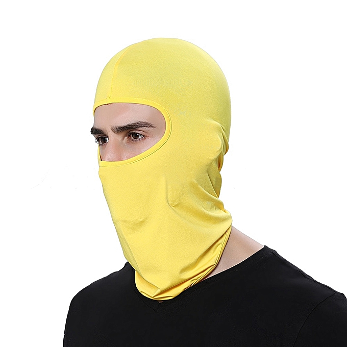 Autre Cycling Face Mask Ski Neck Prougeecting Outdoor Balaclava Full Face Mask Ultra Thin Breathable Windproof( N) à prix pas cher