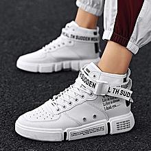 fb975a187 Nouveau chaussures de ville décontractées à la mode pour hommes - blanches