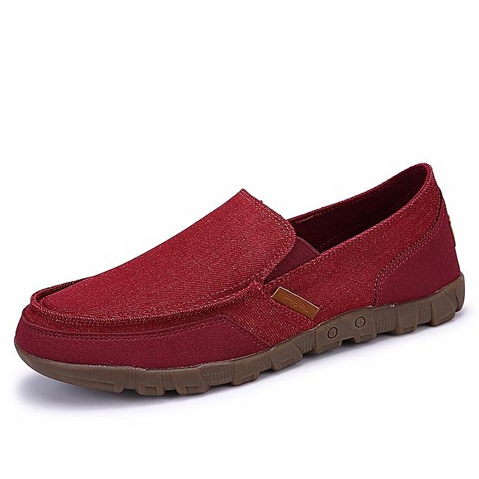 Autre Hommes Flat toile chaussures respirant Cloth chaussures à prix pas cher