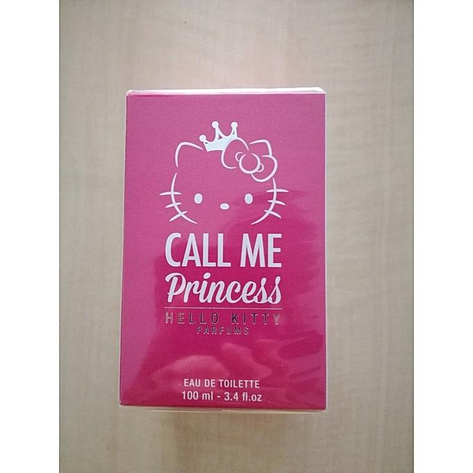Générique Parfum Filles Hello Kitty Call Me Princess 100ml à Prix