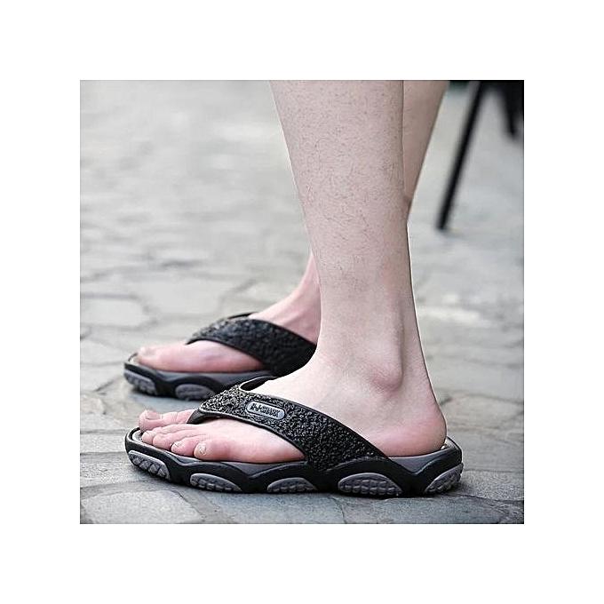 Zant   Sandals Flip Flip Sandals Flops Fashion Beach Slipper Shoes For   Black à prix pas cher    Jumia Maroc 5904e5