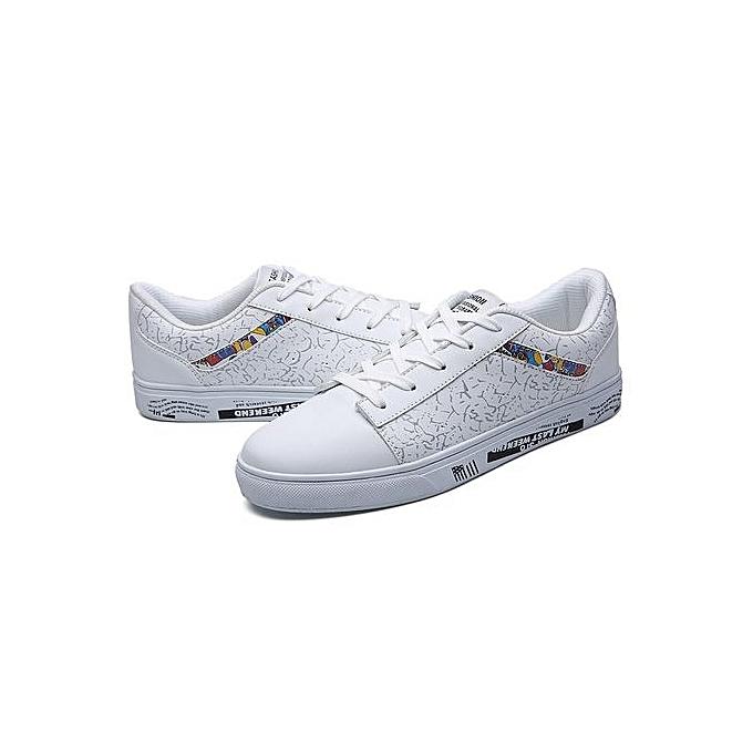 HT     Camo Skateboarding Shoes Fashion Casual Shoes Outdoor Sneakers-White à prix pas cher  | Jumia Maroc 4473ac
