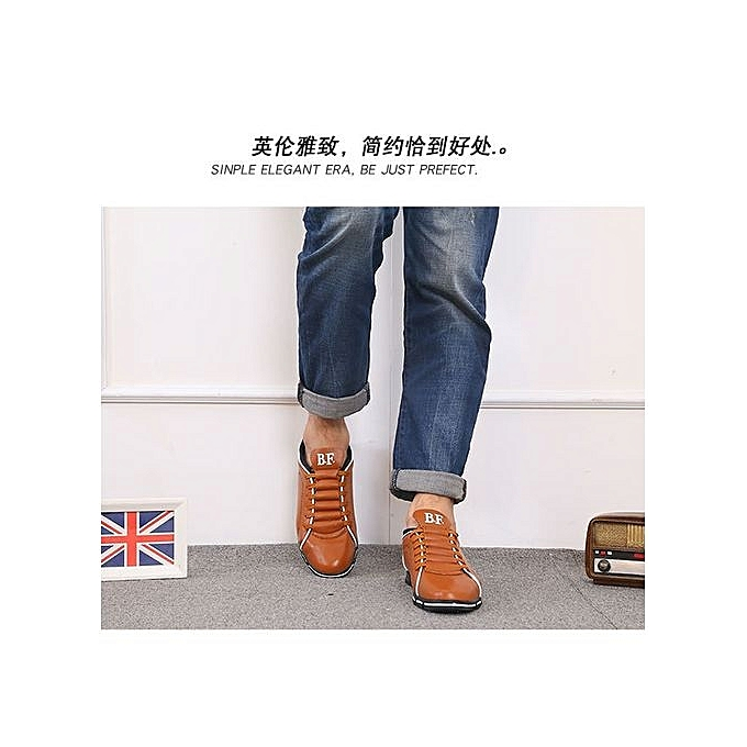 Yingwoo New Item: British Arrival  's  Genuine LEDather Driving Driving LEDather Shoes ComfortabLED LEDather Shoes Best Gift For  -coffee à prix pas cher  | Jumia Maroc f65bac