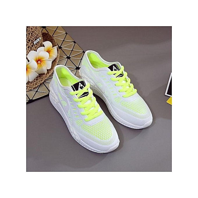 Zant WoHommes 's Fashion Sneakers Sport Casual Breathable Comfortable Shoes Running Shoes Comfortable White-Green à prix pas cher  | Jumia Maroc 11ef79