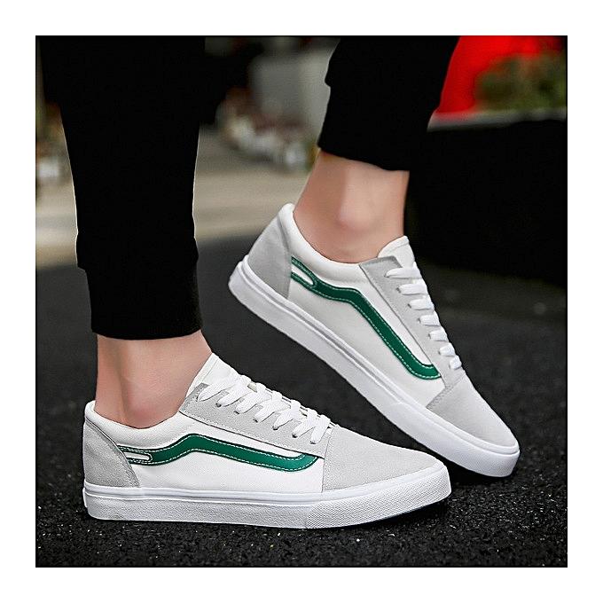 OEM nouveau trend hommes chaussures wild Décontracté toile chaussures hommes chaussures respirant tide chaussures-vert à prix pas cher