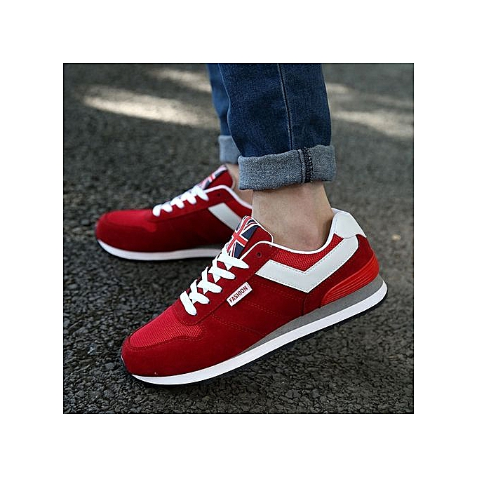 OEM Men's chaussures N-sports chaussures chaussures mesh casual chaussures vert hommes chaussures-rouge à prix pas cher