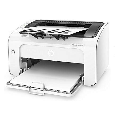 hp laserjet pro m12w la plus petite imprimante laser. Black Bedroom Furniture Sets. Home Design Ideas