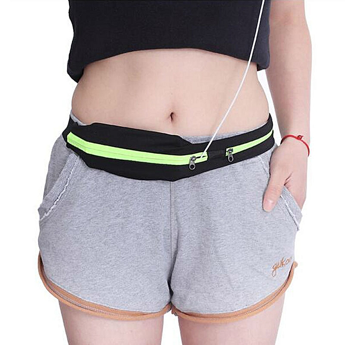 AONIJIE Professional Running Waist Bag for Mobile Phone New Arrived Unisex Gym Bags Running Waist Belt Sports Entertainment Accessories(Orange) à prix pas cher