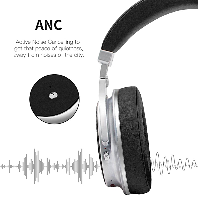 e93bd22aa07 ... Bluedio F2 (Faith) Active Noise Cancelling Over-ear Business Wireless  Bluetooth Headphones with ...