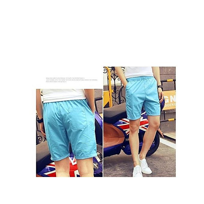 mode Sky bleu Hommes Brand Fitness courtes Pour des hommes Professional Bodybuilding courte Pants Gasp Big Taille à prix pas cher