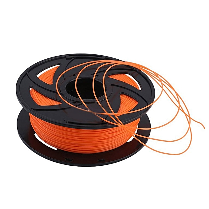 Generic TA-1.75mm PLA 3D Printer Filament Plastic Consumables Material Printing Supplies Orange à prix pas cher