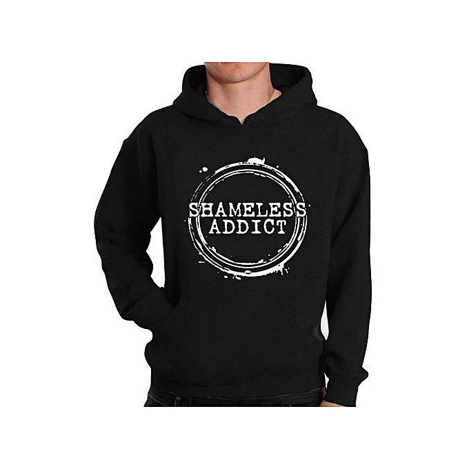 Generic Fashion Shameless Addict Hoodie For Men à prix pas cher