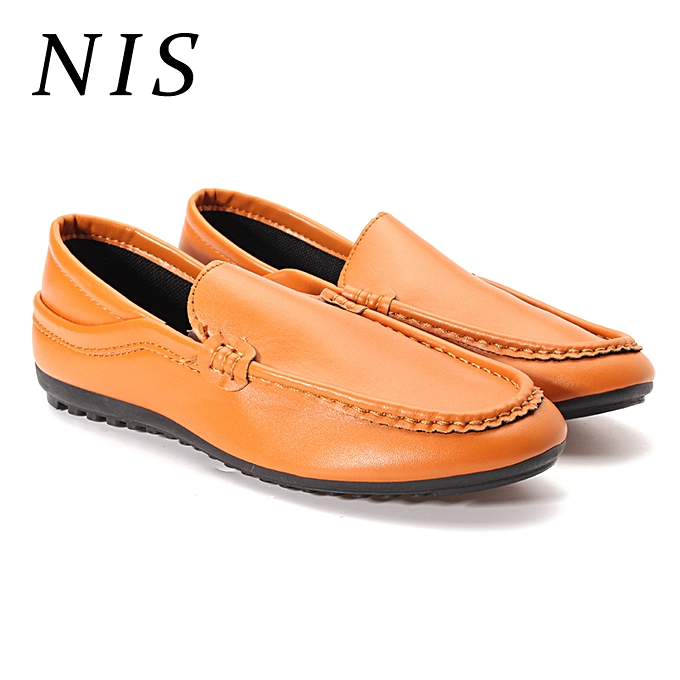 UNIVERSAL Men Casual chaussures Leather Moccasin Slip On Loafers à prix pas cher    Jumia Maroc