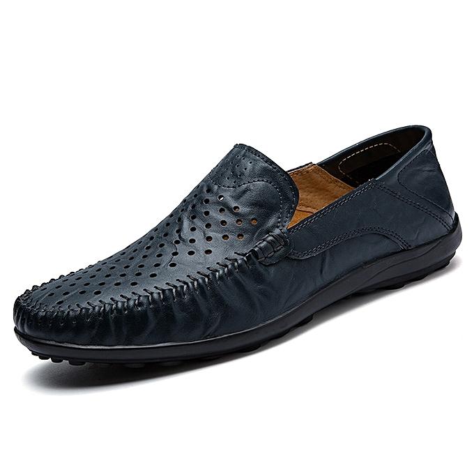 Tauntte Breathable Hollow Out Loafers Men Casual chaussures (bleu) à prix pas cher    Jumia Maroc