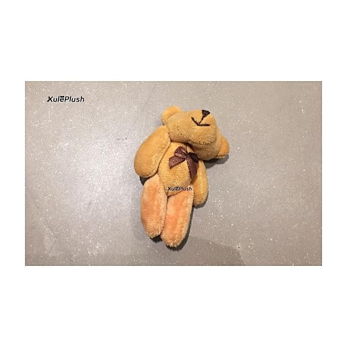 Autre Multi Couleurs  Kawaii Little 3.5CM 13CM 4Tailles , Wedding Bear Plush Stuffed TOY ; Plush Joint Bear Bouquet Accessories Plush TOY (8cm) à prix pas cher