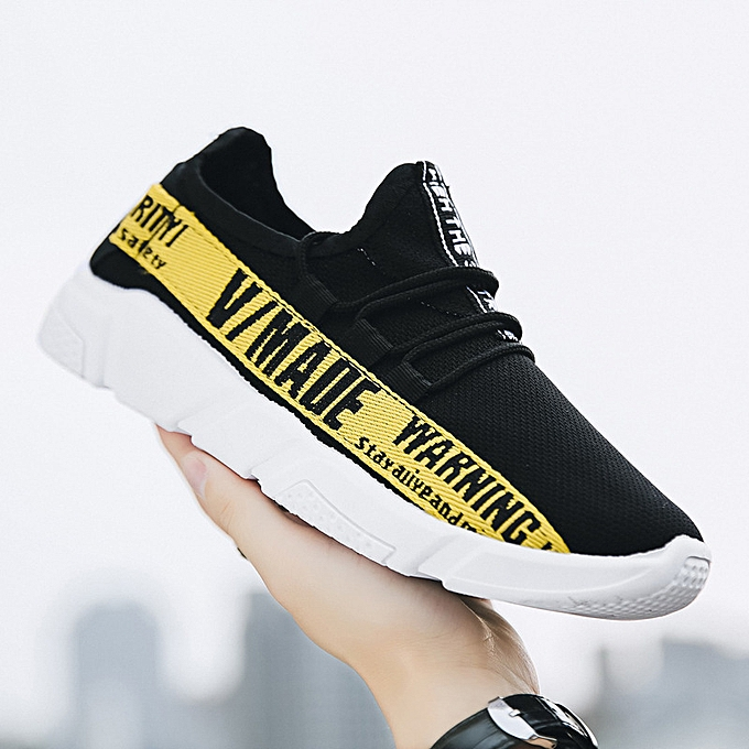 Fashion Sports chaussures, chaussures, casual, breathable, hommes chaussures, running chaussures jaune à prix pas cher    Jumia Maroc