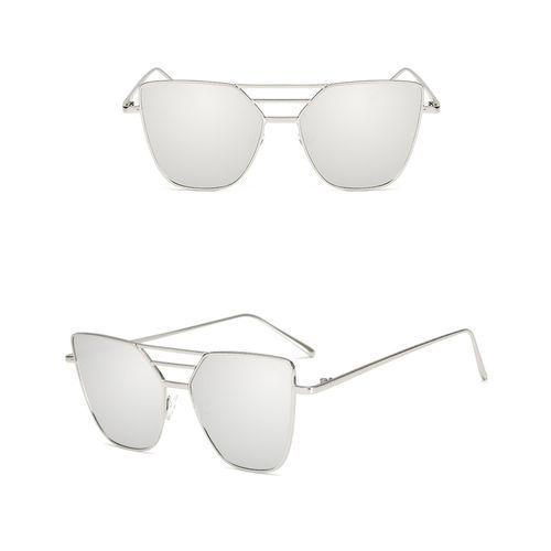dda4a4a294d90a Unisex Vintage Irregular Glasses Aviator Mirror Sunglasses Gift
