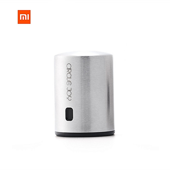 Other Xiaomi Circle Joy Round Stainless Steel rouge Wine Mini Plug Wine Stopper Vacuum Efficient Preservation Memory Integration à prix pas cher