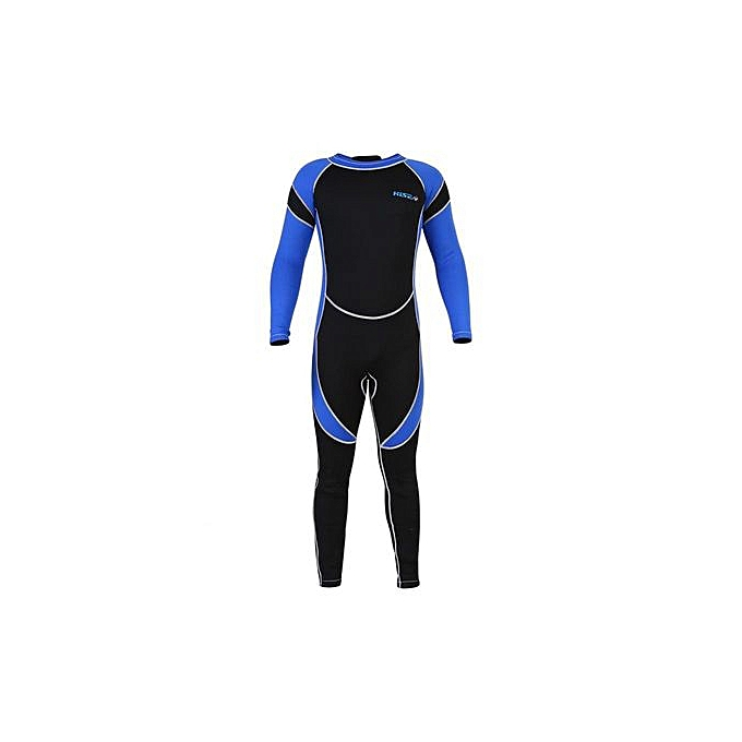 Other Kids Neoprene Scuba One-piece Diving Snorkeling Wet Suit Long Sleeve Surfing Swimwear (8) à prix pas cher