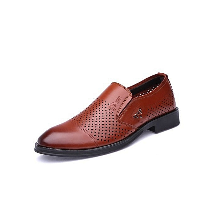 Fashion Genuine Leather   Formal Shoes British Sytle Sytle Sytle Loafers Slip-On à prix pas cher    Jumia Maroc 7a7679