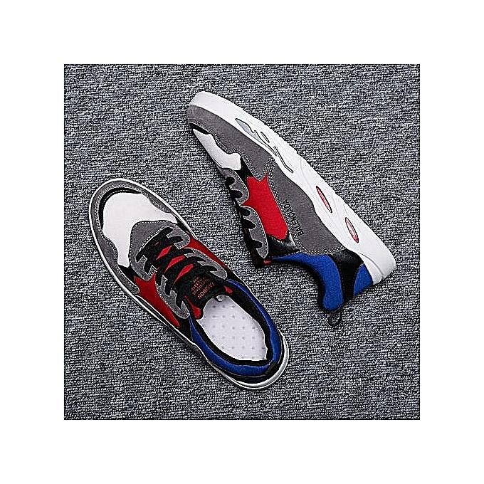 Fashion Fashion Comfortable Men baskets—gris à prix pas cher    Jumia Maroc