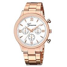 f5f269465 Tectores Luxury Watch Fashion Stainless Steel Watch For Men's Quartz  Analog Wrist