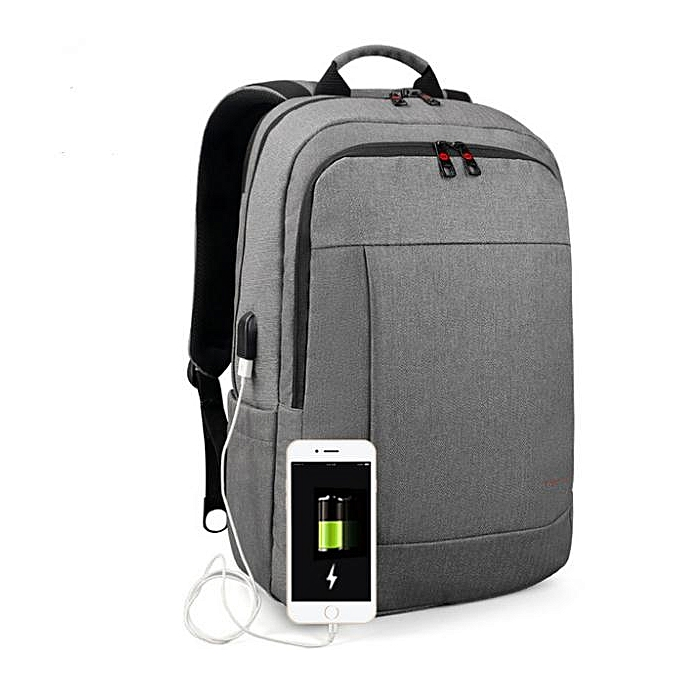 OEM Hot Anti theft USB charging Men 15.6inch Laptop Backpack for femmes Fashion Travel Bag gris à prix pas cher