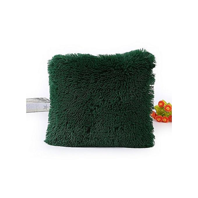 45 45cm throw home decoration soft fur fluffy sofa pillow for Achat maison casablanca