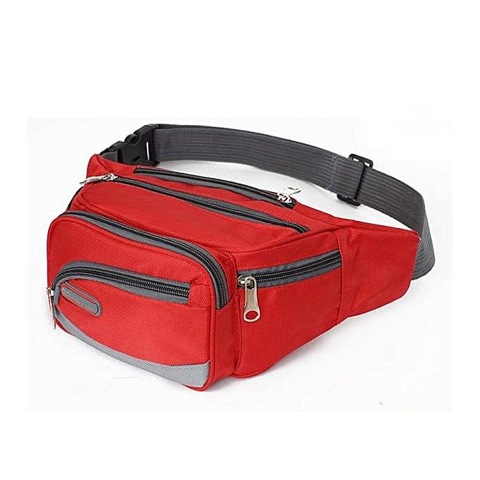 mode Tcetoctre de plein air Sports Décontracté sac à dos bandoulière Shoulder sac Chest sac   rouge-rouge à prix pas cher